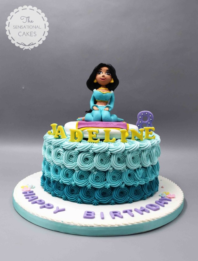 Princess Jasmine Birthday Cake The Sensational Cakes Princess Jasmine Inspired Theme Cake Singapore