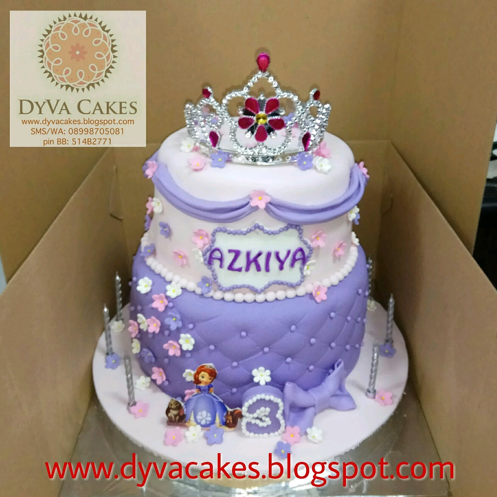 Admirable Princess Sofia Birthday Cake Dyva Cakes March 2017 Birijus Com Birthday Cards Printable Nowaargucafe Filternl