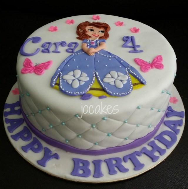 Princess Sofia Birthday Cake Sofia Birthday Cakes