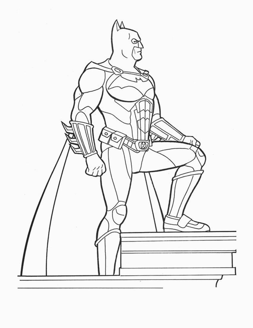 photograph about Batman Coloring Pages Printable referred to as Printable Batman Coloring Web pages Cost-free Printable Batman