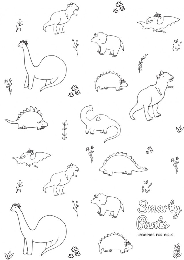 23+ Elegant Picture of Printable Dinosaur Coloring Pages - birijus.com