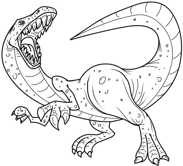 23 Elegant Picture Of Printable Dinosaur Coloring Pages Birijus Com