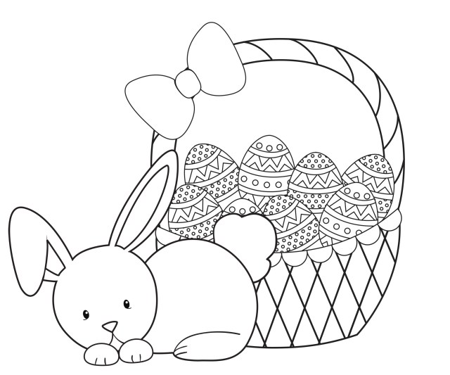 Printable Easter Coloring Pages Easter Coloring Pages For Kids Crazy Little Projects