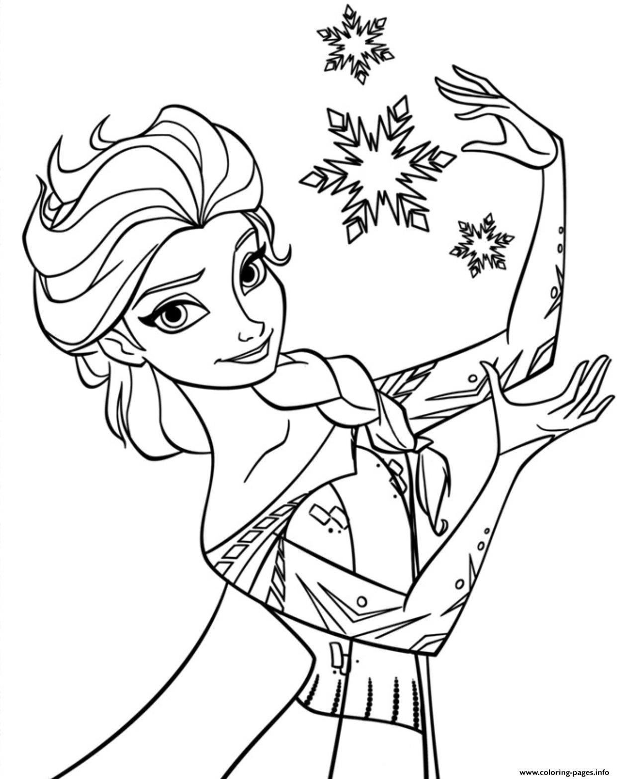 Frozen Coloring Pages Online