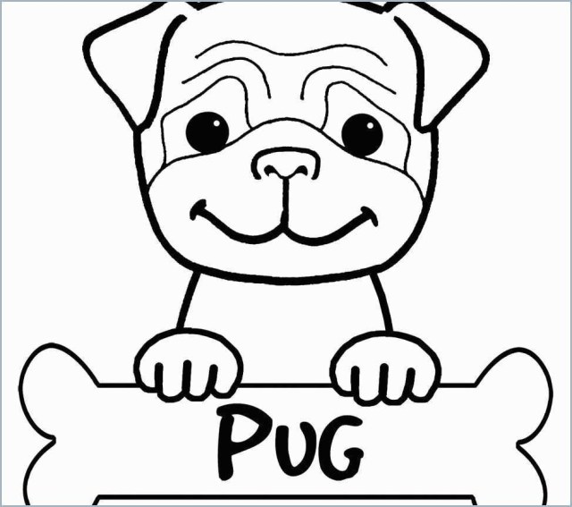 Pug Coloring Pages Pug Coloring Pages For Adults With Pug Coloring Book Luxury Pug