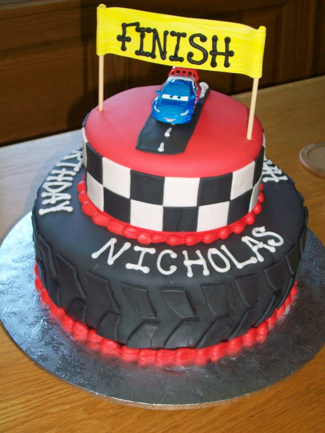 Race Car Birthday Cake Race Car Birthday Cake Childrens Birthday Cakes Birthday Race