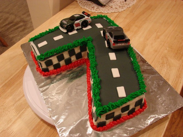 Race Car Birthday Cake Race Car Birthday Cake Racing Themed Cake For A Little Boy Turning