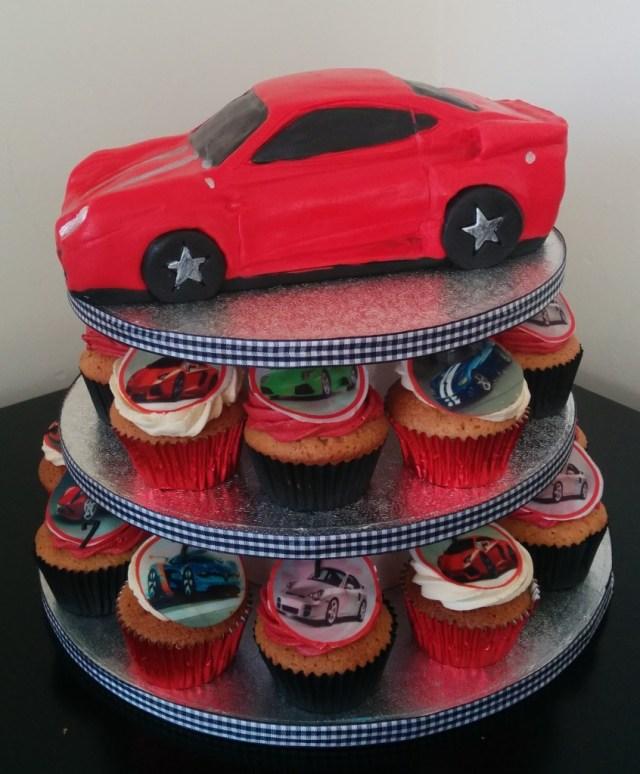 Race Car Birthday Cake Racing Car Birthday Cake Cupcakes Wedding Birthday Cakes From