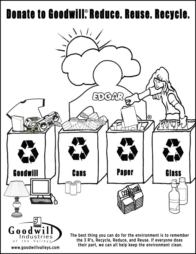 Recycling Coloring Pages Free Recycle Coloring Pages Download Free Clip Art Free Clip Art
