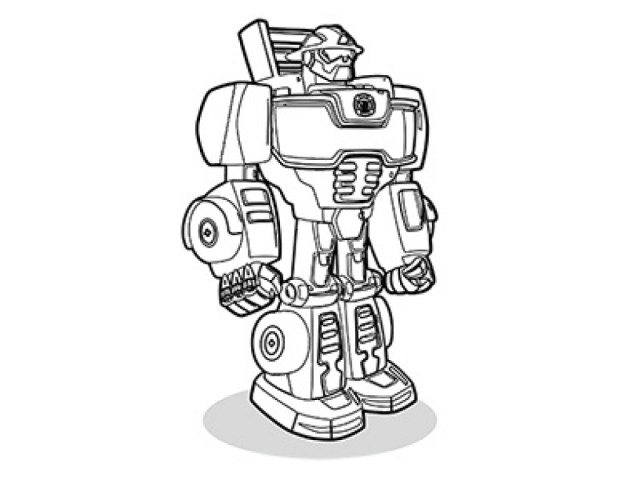 Brilliant Picture Of Rescue Bot Coloring Pages Birijus Com