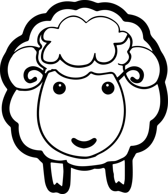 Sheep Coloring Page Charming Idea Sheep Coloring Page Lamb Cpaaffiliate Info Pages