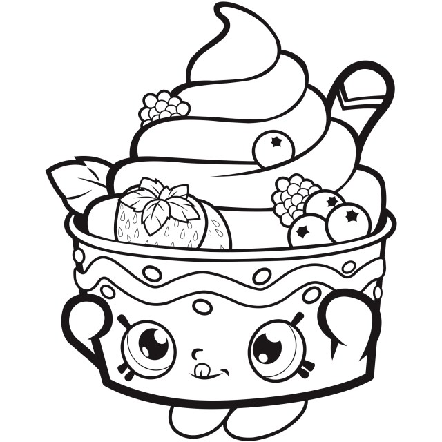 Shopkins Coloring Pages To Print Free Shopkins Coloring Pages Coloring Pages For Kids