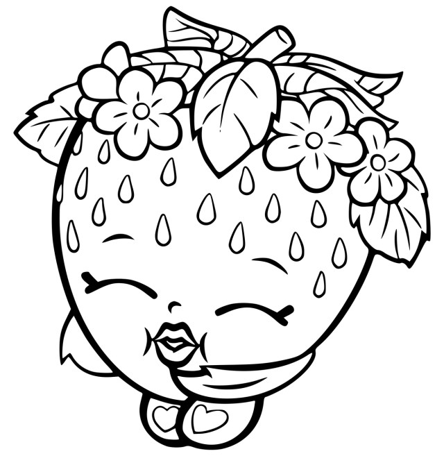 Shopkins Coloring Pages To Print Shopkins Coloring Pages Coloringrocks