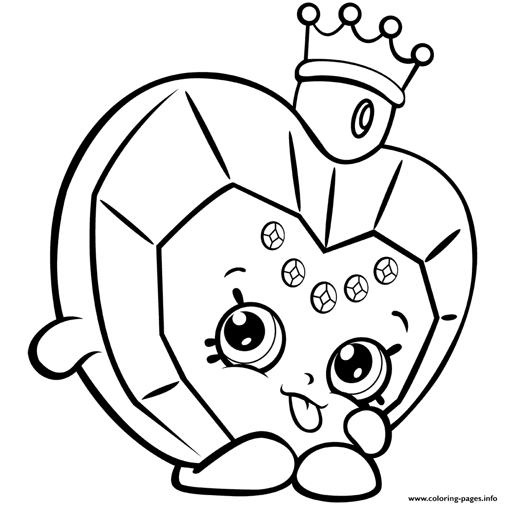 Shopkins Coloring Pages To Print Shopkins Coloring Pages Season 8 ...