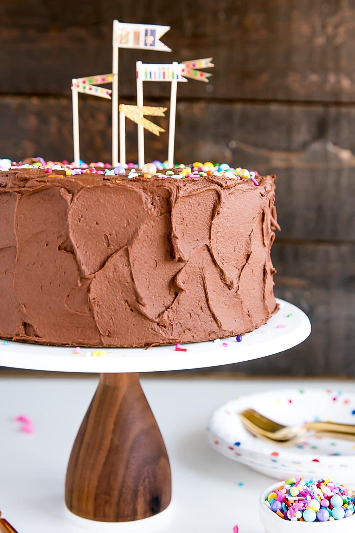 Simple Birthday Cake Recipe Classic Liv For