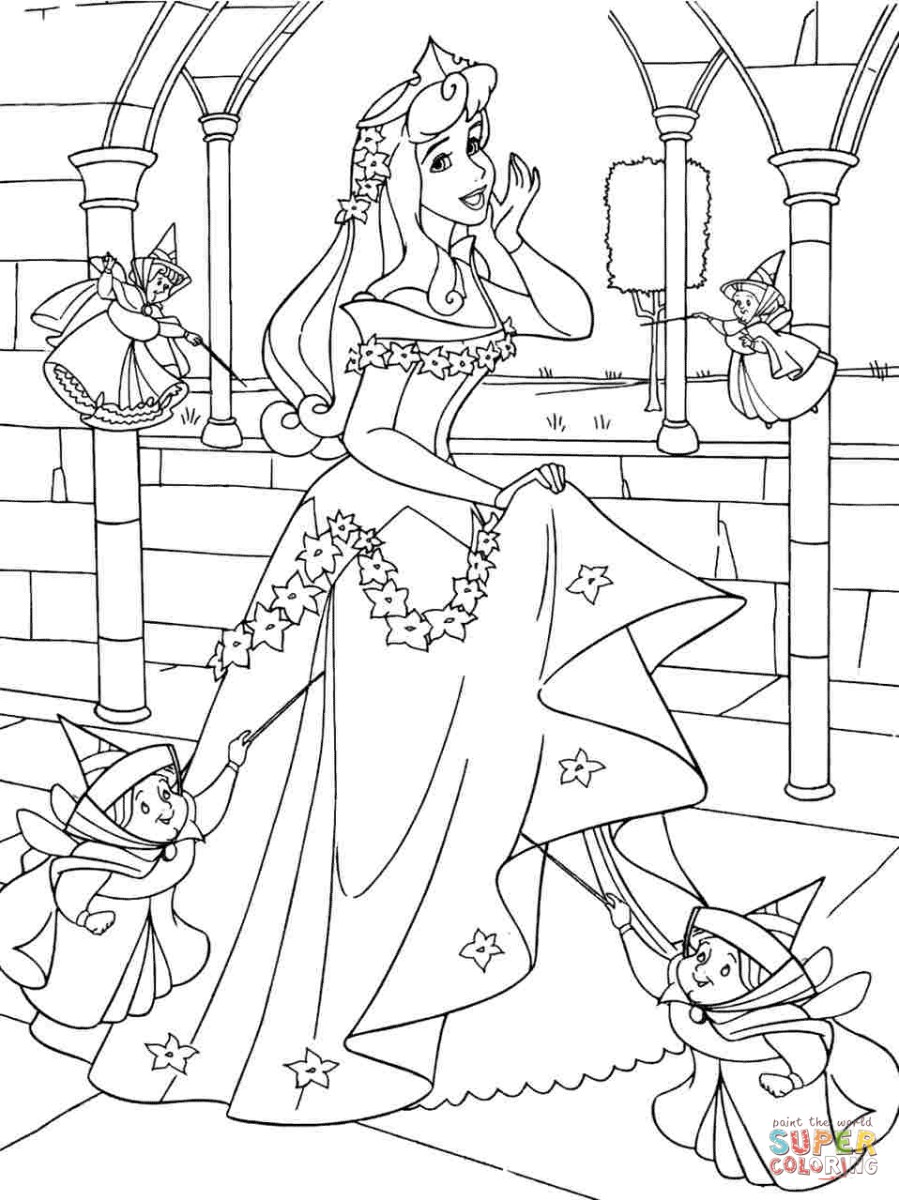 Sleeping Beauty Coloring Pages Sleeping Beauty Coloring Pages Free Coloring Pages