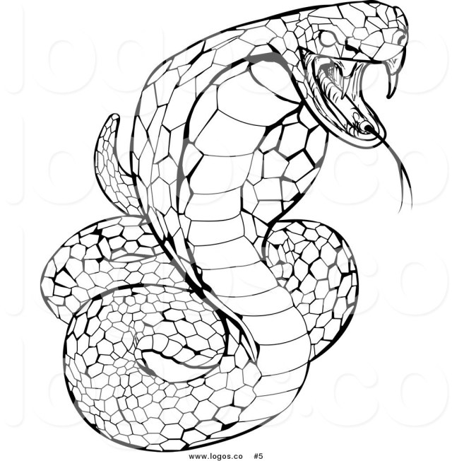 Snake Coloring Pages Rooms Modern Garden Design Ideas King Cobra Snake Coloring Pages