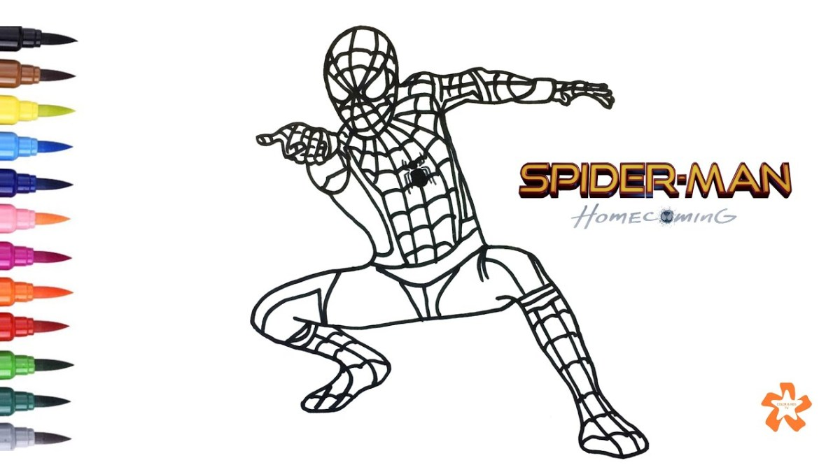 Spider Man Face Template Cut Out Colouring Page Coloring Pages ... | 675x1200