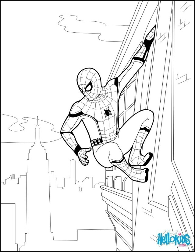 Spider Man Homecoming Coloring Pages Spider Man Homecoming Coloring Book Dreade