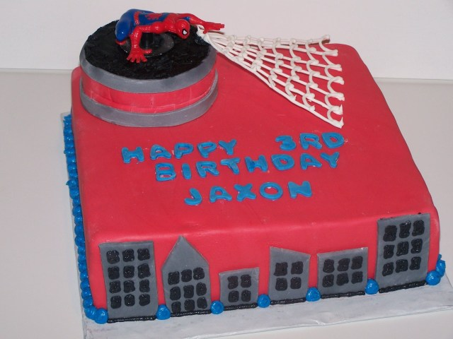 Spiderman Birthday Cakes Adventures In Baking Spiderman Birthday Cake