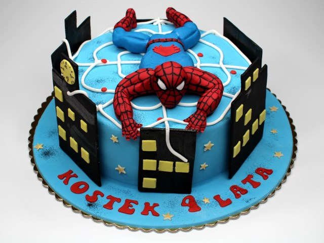 Spiderman Birthday Cakes London Patisserie Spiderman Birthday Cake London