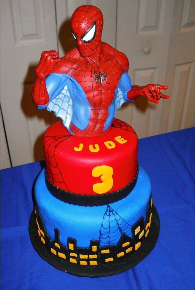 Spiderman Birthday Cakes Spiderman Birthday Cake Boys Birthday Cake Mimis Birthday Cakes