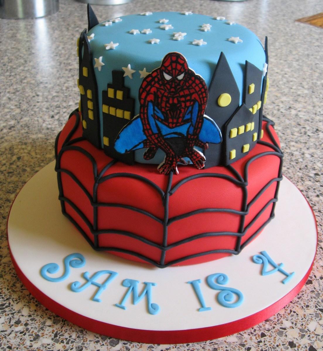 Spiderman Birthday Cakes Spiderman Birthday Cakes Best Spiderman Birthday Cakes Idea