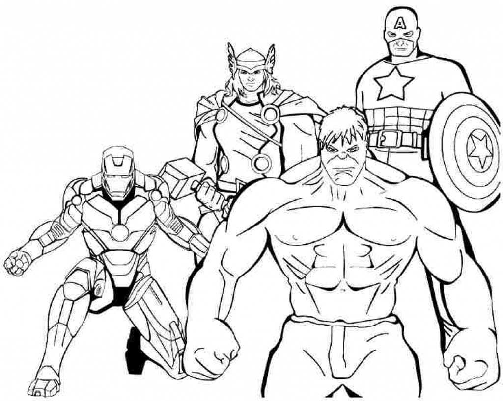 - Superhero Printable Coloring Pages Thor Coloring Pages