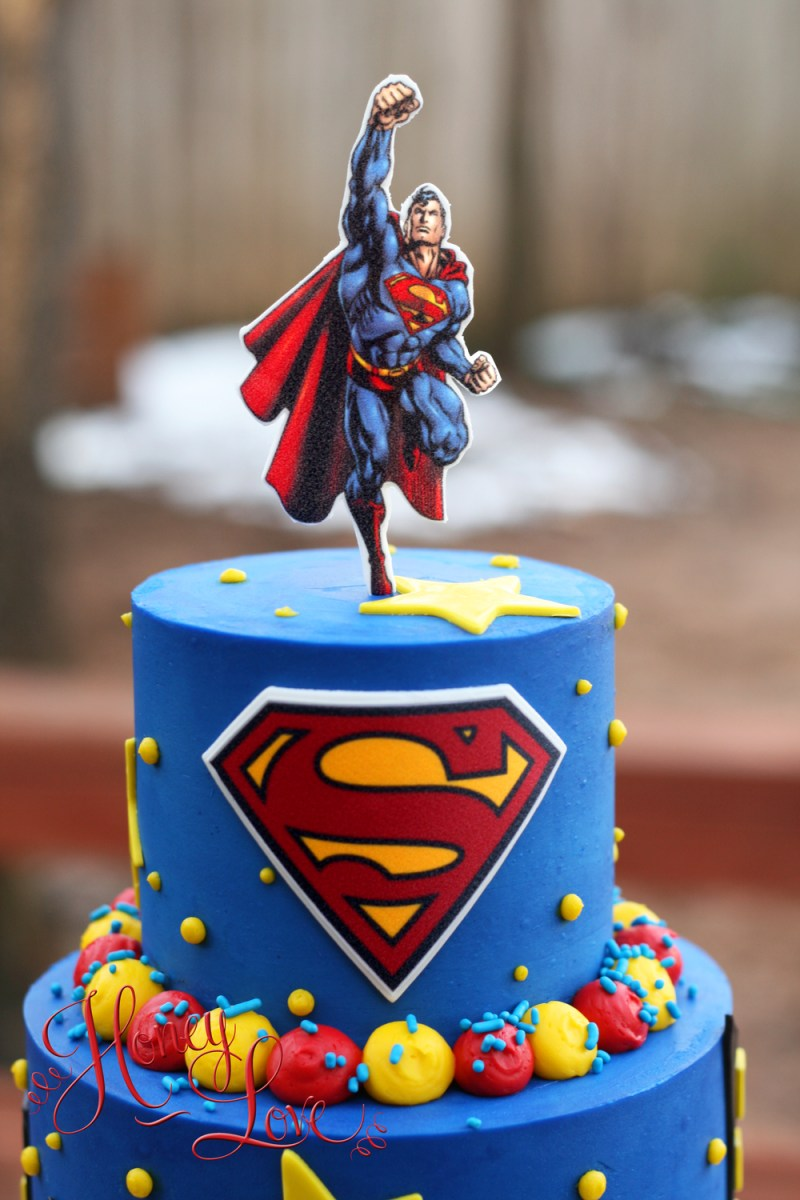 Cool Superman Birthday Cake 11 Superman Birthday Cupcakes Photo Funny Birthday Cards Online Bapapcheapnameinfo