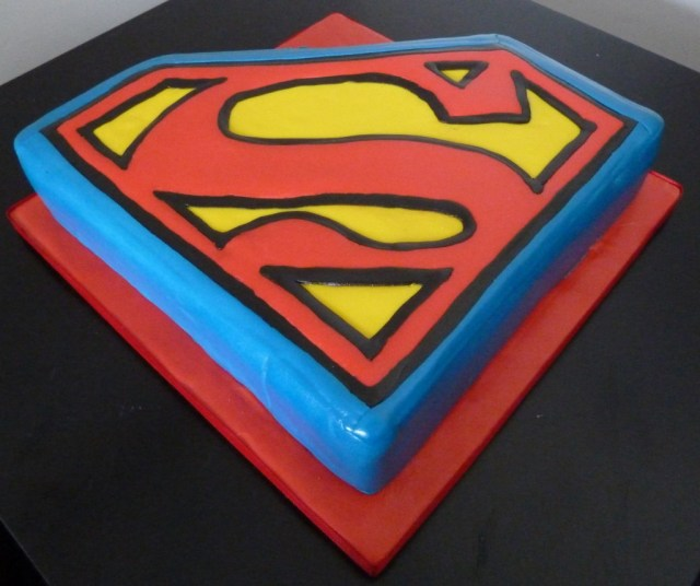 Superman Birthday Cake Superman Birthday Cake Wedding Birthday Cakes From Maureens