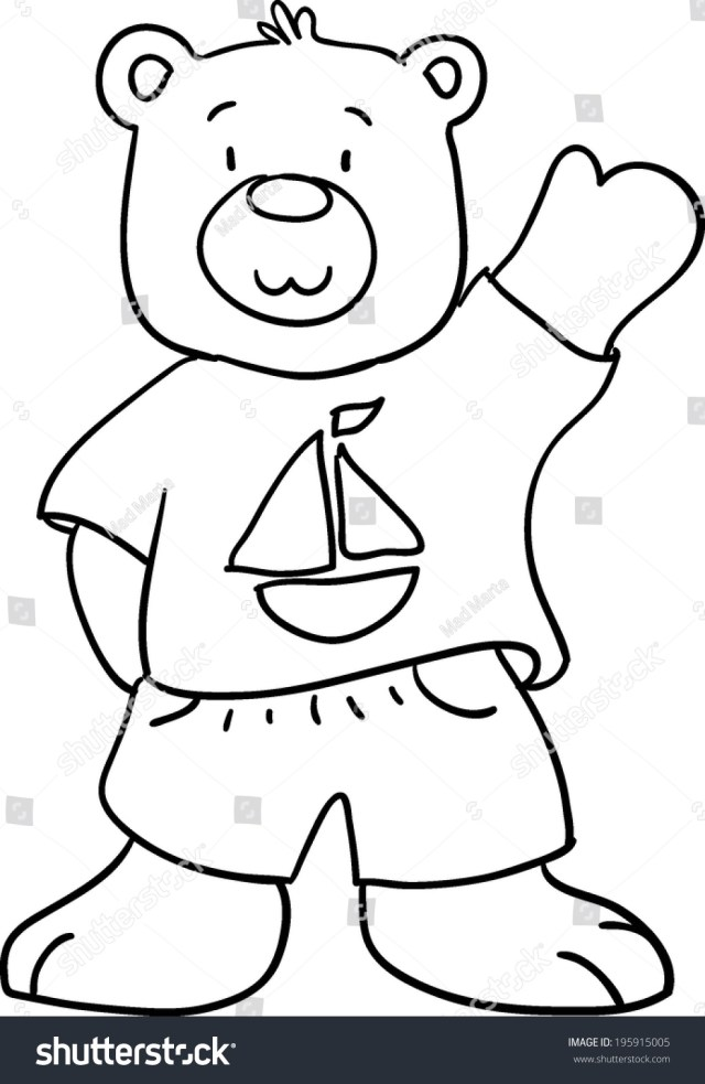 Teddy Bear Coloring Pages Coloring Pages Tremendous Teddy Bear Coloring Book Photo