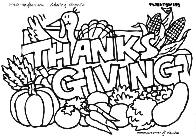 Thanksgiving Coloring Pages For Kids Free Thanksgiving Coloring Pages For Kids