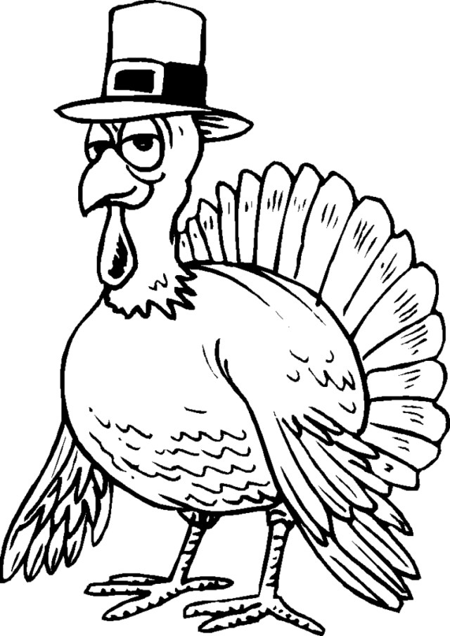 Thanksgiving Coloring Pages For Kids Free Thanksgiving Coloring Pages With Childrens Also Printable