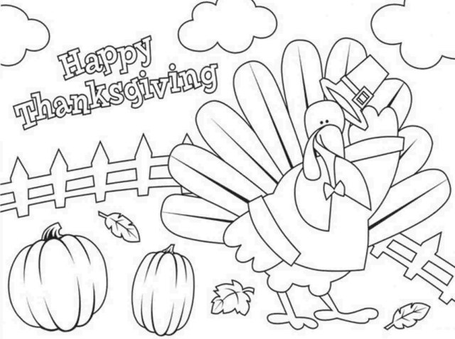Thanksgiving Coloring Pages For Kids Free Thanksgiving Coloring Pages With Crafts Also Sheets Kids