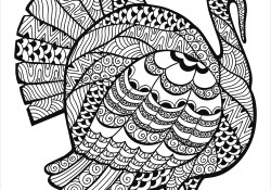 Thanksgiving Turkey Coloring Pages Turkey Zentangle Coloring Sheet Thanksgiving Adult Coloring Pages