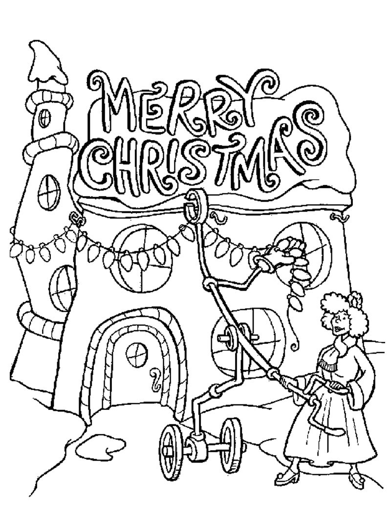 Free Printable Grinch Coloring Pages For Kids | 1034x800