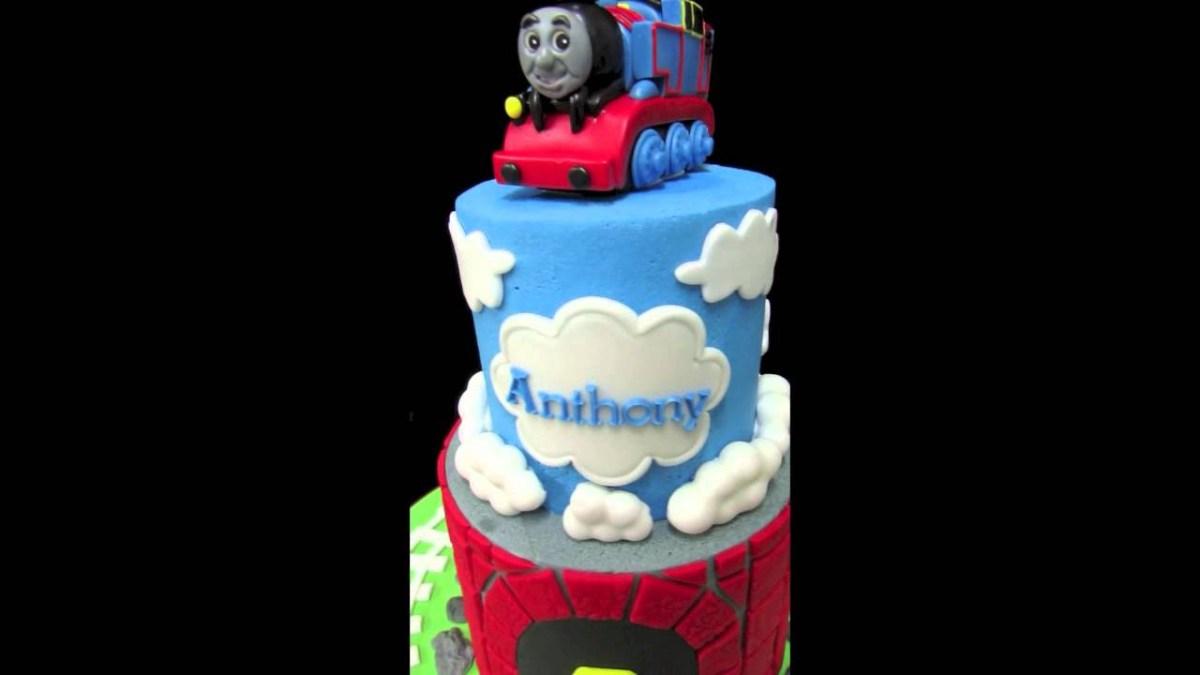 Pleasant Thomas The Train Birthday Cakes Thomas The Train Birthday Cake Birthday Cards Printable Benkemecafe Filternl
