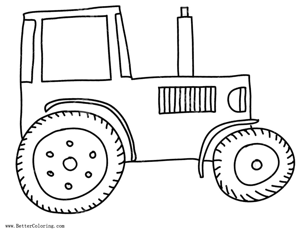Coloring Pages For Boys John Deere Tractor Coloring Pages