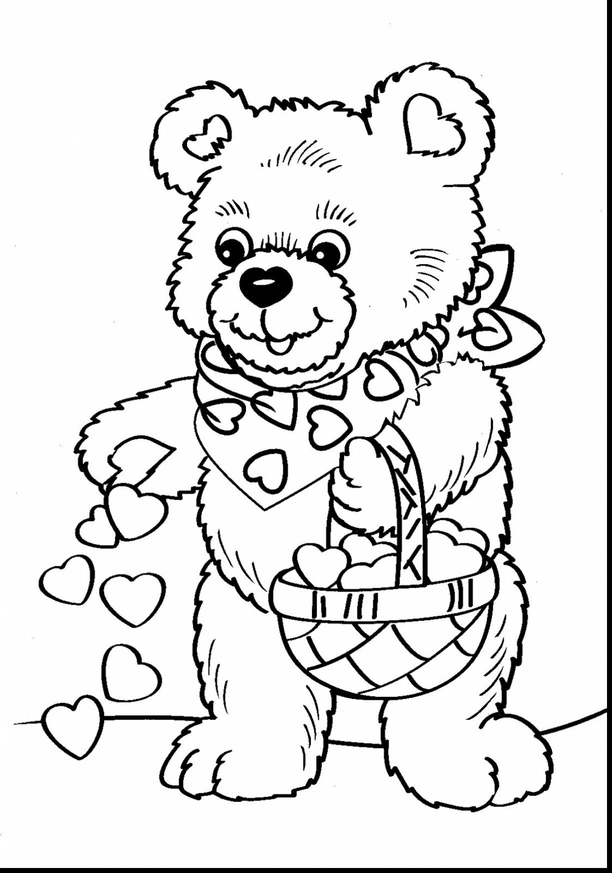 image relating to Valentine Day Coloring Pages Printable identified as Valentines Working day Coloring Internet pages Printable Hi there Kitty