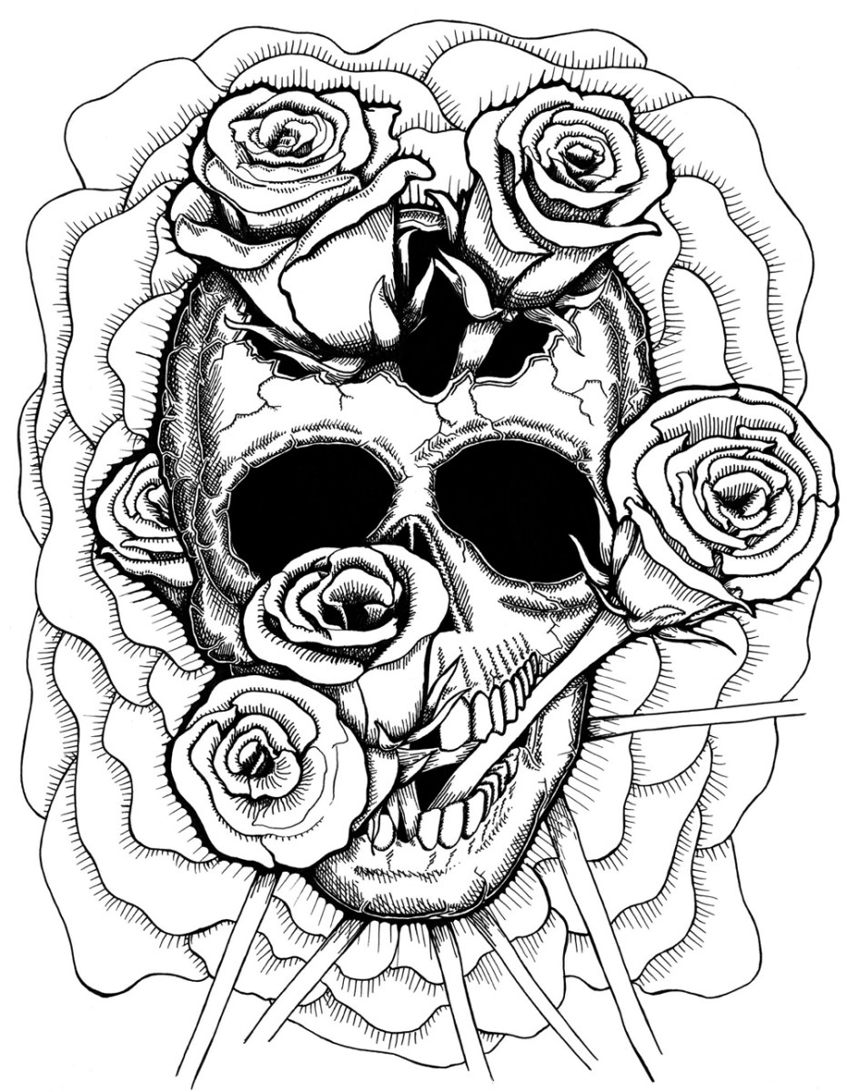 Weed Coloring Pages Full Page Weed Coloring Printables For Adults The Color Panda