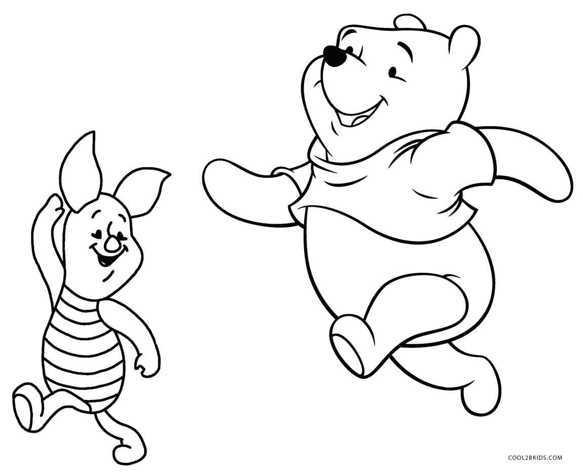 Winnie The Pooh Coloring Pages Free Printable Winnie The