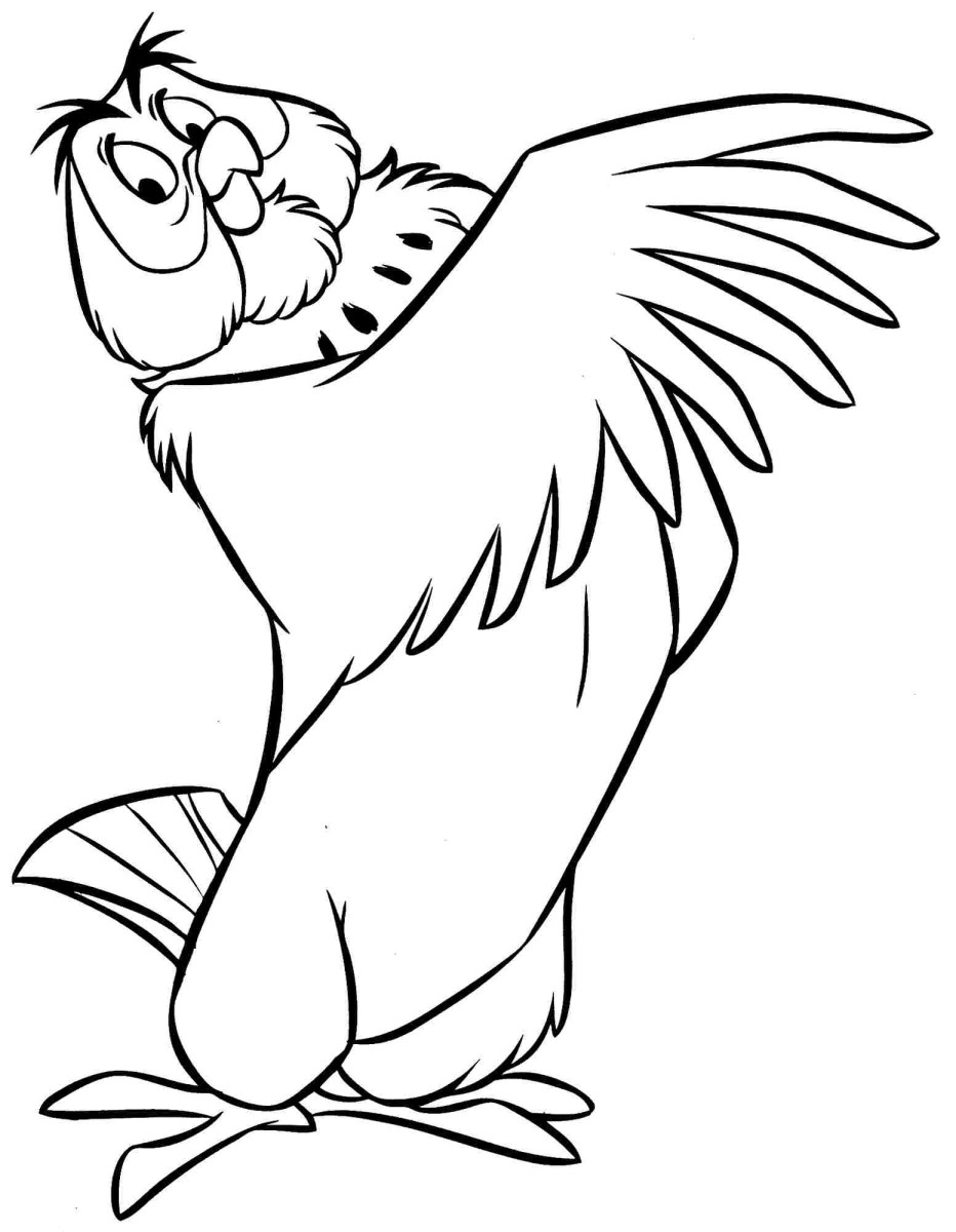 Winnie The Pooh Coloring Pages Owl Winnie The Pooh Colouring