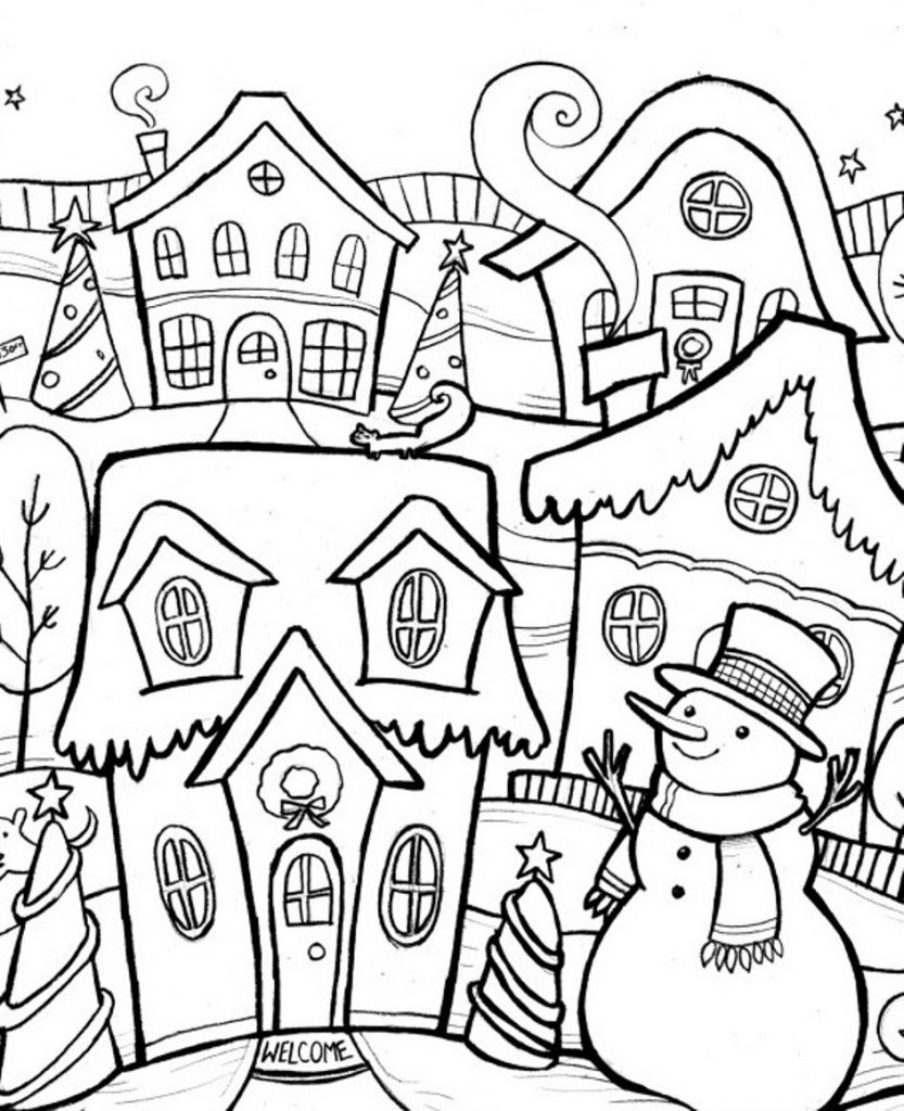 - Winter Coloring Pages For Kids Winter Color Sheets 5418 In Pages