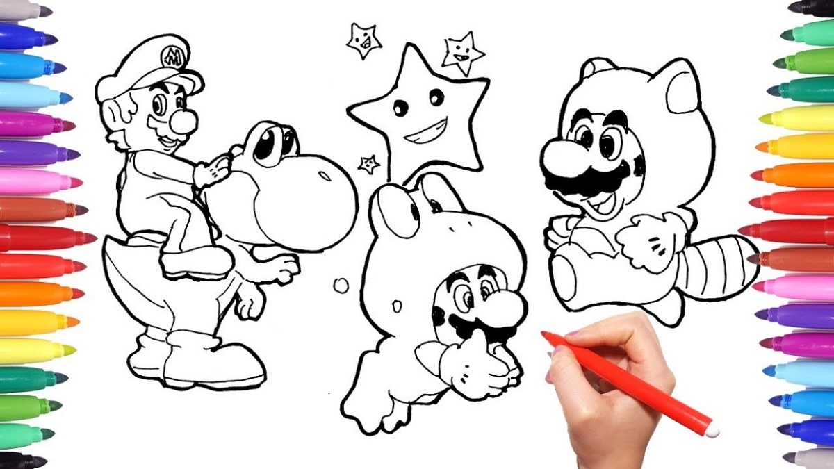 Yoshi Coloring Pages Yoshi Coloring Pages Drawings Printable Shelter