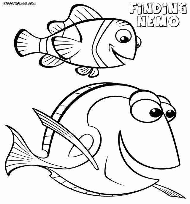 Yoshi Coloring Pages Yoshi Coloring Pages Pour Enfant Luxury Dory And Marlin Coloring