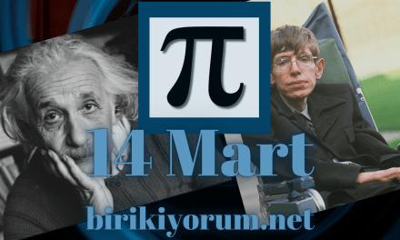 Albert Einstein Stephen Hawking ve Pi Günü