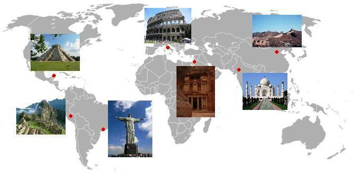 Dünyanın 7 Yeni Harikası