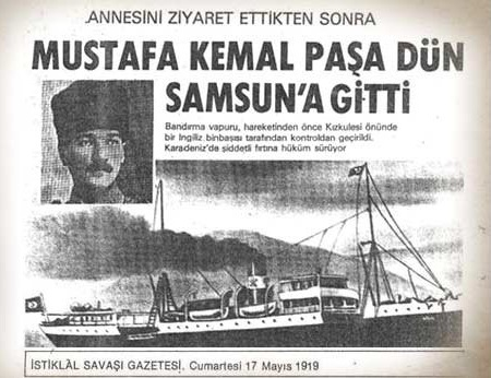 17.05.1919 İstiklal Savaşı Gazetesi