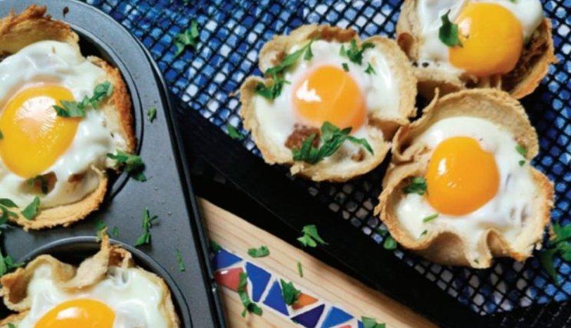 Ekmek Çanağında Kavurmalı Yumurta