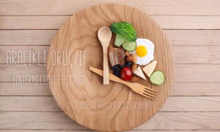 Aralıklı Oruç/IF (Intermittent Fasting)